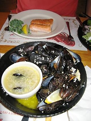 Mussels and Salmon
