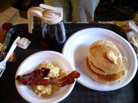 Pancakes plate