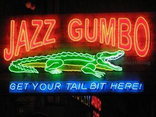 Jazz Gumbo Sign sm