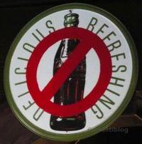 No Coke Sign sm