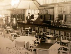 Main Dining Room in 1936