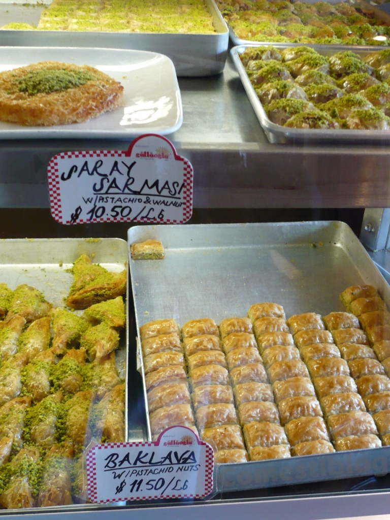 Saray Sarmasi and Baklava