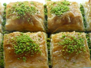 Special Baklava with Double Pistachio
