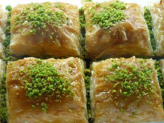Special Baklava with Double Pistachio