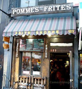 Pommes Frites entry md