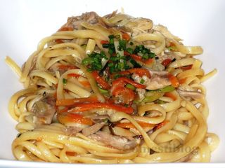 Tarragon Chicken Linguine md