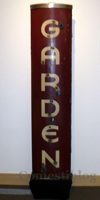 Garden Cafeteria sign