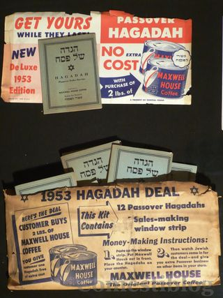 Maxwell House Haggadah promotion