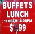 Buffet Sign sm