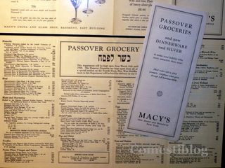 Macy's Passover groceries