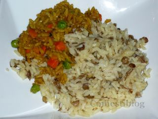 Saffron and Lentil Rice