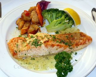 Broiled Salmon Dijon