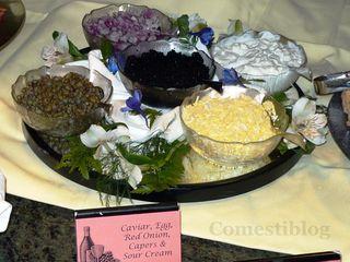 Caviar and Accompaniments