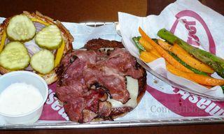 Brooklyn smashburger and Veggies