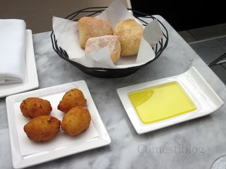Idiazabal Cheese Croquettes and Bread