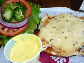Spicy Baja Chicken sandwich