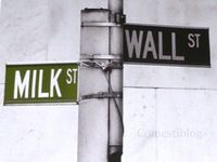 Milk and Wall Streets