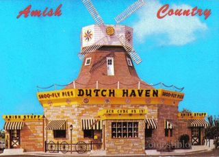 Dutch Haven postcard