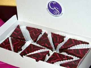 Chocolate Swirl Double Decker Brownies