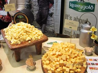 Kerrygold's Aged Cheddar with Irish Whiskey and Dubliner