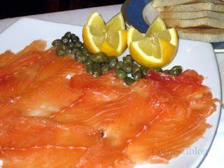 House Gravlax Salmon