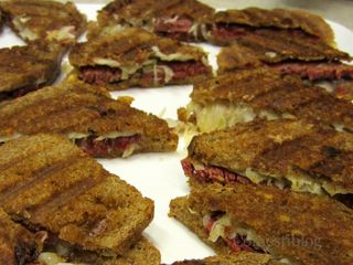 Reuben Sandwich Samples