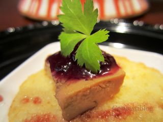 Foie Gras Terrine with Berry Compote