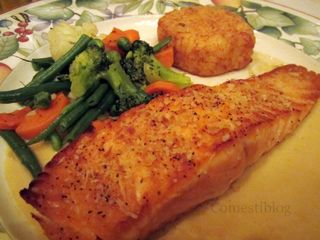 Sautéed Fillet of Salmon