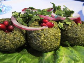 Spinach Pkhali with Walnuts