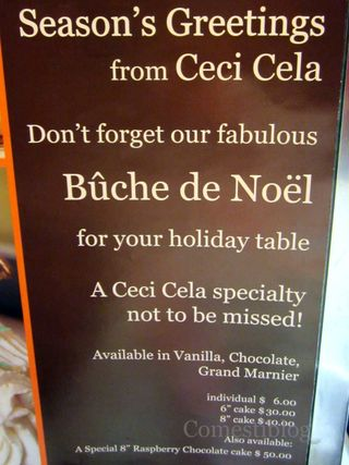 Bûche prices