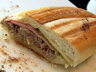Redwood Deli's Cuban Sandwich
