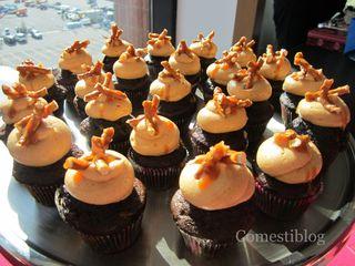 Rudy's Mini Chocolate Cupcakes