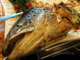 Rocoto Restaurant's Grilled Salmon