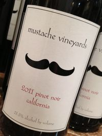 Mustache Vineyards Pinot Noir