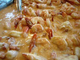 Bourbon Street's BBQ shrimp