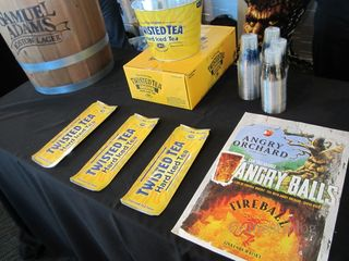 Twisted Tea and Angry Orchard Cider