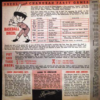 Barricini's Chanukah party games