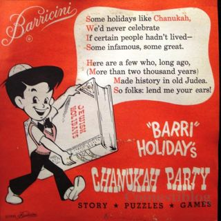 Barricini's Chanukah party games