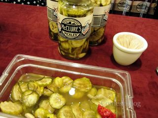 McClure's Sweet Spicy pickles