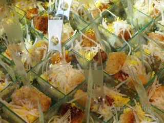Deconstructed Chicken Caesar Salad