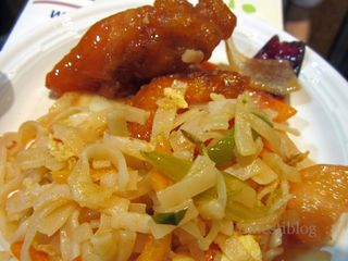 Sweet-and-Sour Chicken and Pad Thai