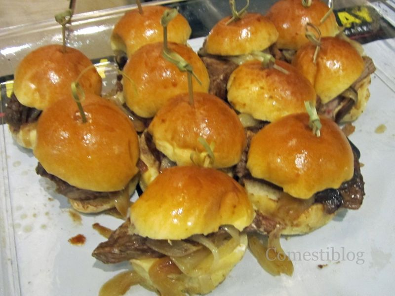 Flank Steak Sliders