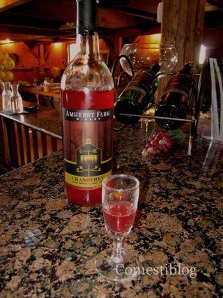 Cranberry Wine Tasting