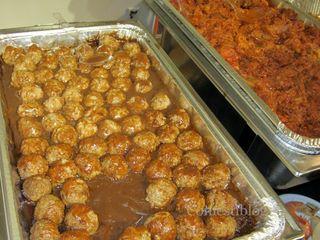 Swedish Meatballs and Pulled Pork