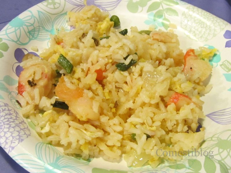 Nest Seafood Fried Rice