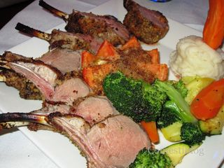 Rack of Lamb alla Romana