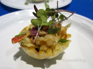 Shrimp and Cashew Cabbage Slaw