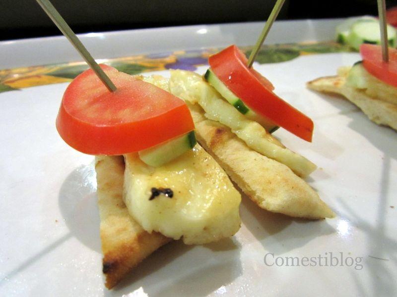 Zenon Taverna Cyprus Halloumi Sandwiches